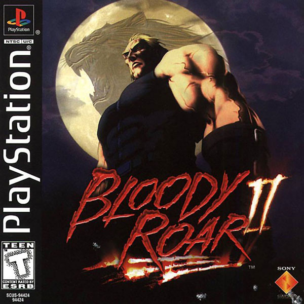 Bloody Roar 2 [U] Front Cover